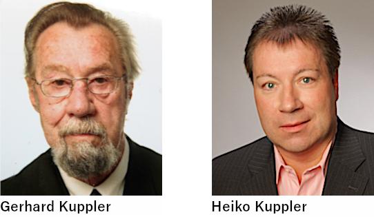 Gerhard Kuppler - großer Wechsel in der Führung bei Kuppler + Herrmann GmbH - 1998 und 1999